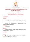 Formularios del Ritual del Sacramento del Matrimonio (Liturgia Hispano-Mozárabe)